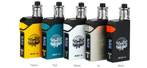 iJoy Solo V2 200W Starter Kit MOD Limitless Tank White Black Yellow Teal Silver