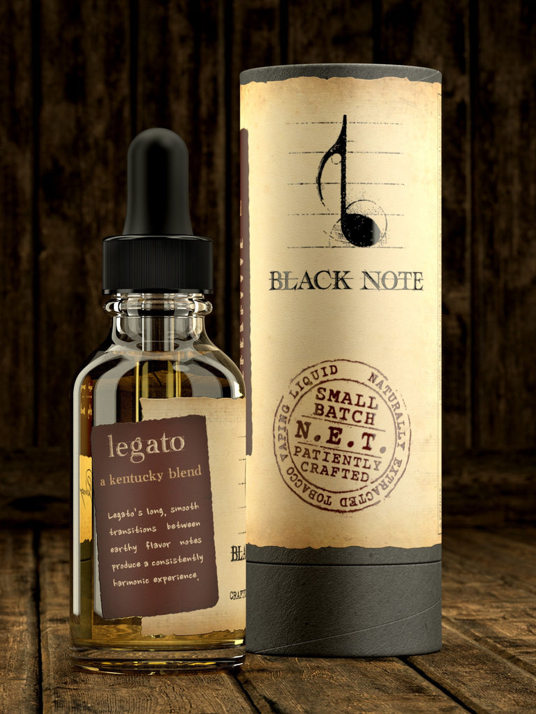 Black Note Legato A Kentucky Blend 30ml E Liquid