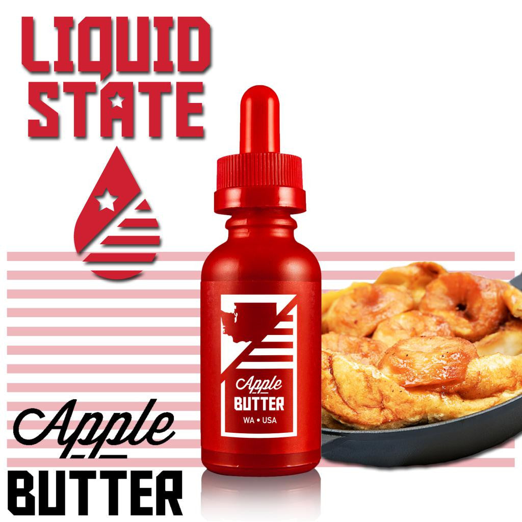 Apple Butter Liquid State Vapors E Juice