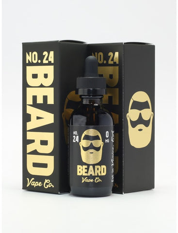 No 24 Beard Vape Co. E Liquid Juice