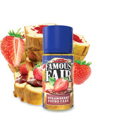Famous Fair Strawberry Pound Cake 180ml One Hit Wonder E Juice Liquid