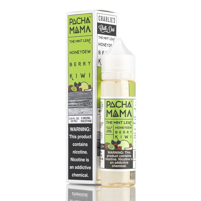 Pacha Mama Mint Leaf E Juice Charlie's Chalk Dust