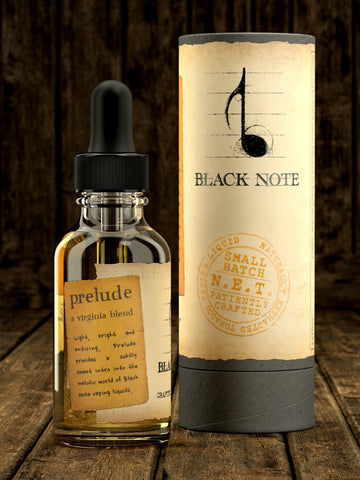 Black Note Prelude A Virginia Blend 30ml E Liquid