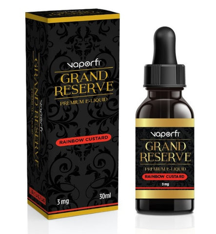 Rainbow Custard Grand Reserve VaporFi E Liquid Juice 30ml