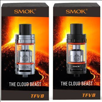 SMOK TFV8 Cloud Beast Black Stainless Steel 6ml Tank Atomizer
