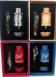 Twisted Messes Lite 2 RDA Red Blue Dark Grey Gold Drip Atomizer Designed By Jay-Bo