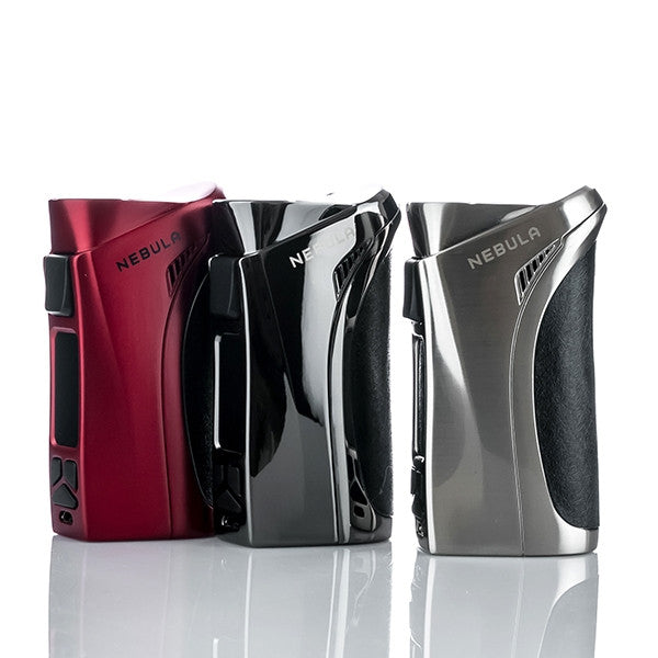 Vaporesso Nebula 100W MOD E Cigarette Red Metallic Grey Stainless Steel