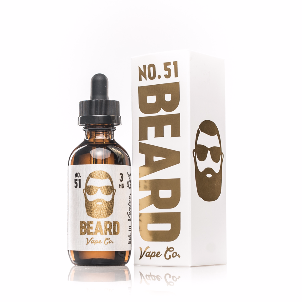 No 51 Beard Vape Co. E Juice Premium E Liquid