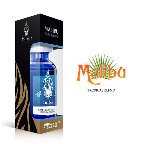 Malibu Tropical Blend E Juice Liquid by Halo E Gigarettes