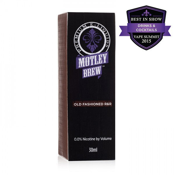 Old Fashioned R&R Motley Brew Premium E Liquid 30ml