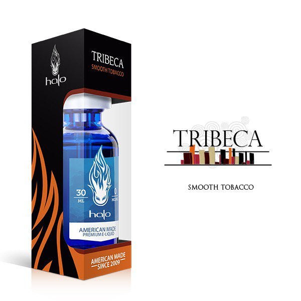 Tribeca Smooth Tobacco E Juice Liquid by Halo E Gigarettes