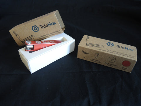 Your TeleHex comes in a beautiful packaging made from recycled materials