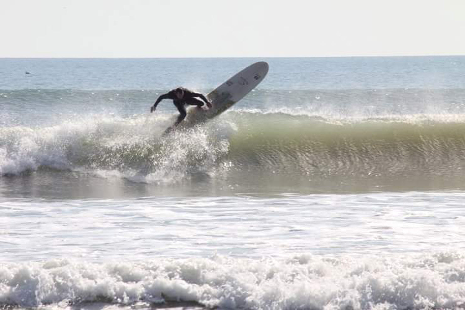 dafe156b47b7 ... Bomber Eyeweaer East Coast Team Rider Joey Stevens smacking the lip of  a wave on his