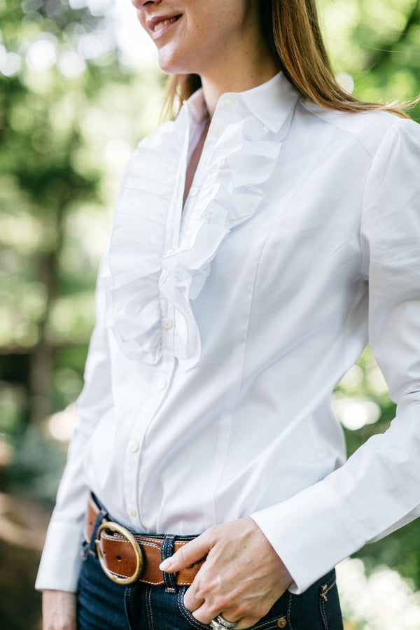 Rifle Ruffle Blouse