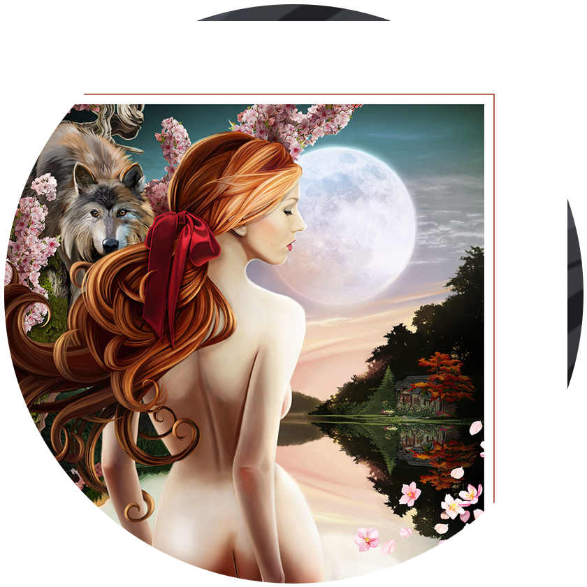 Fairy Tale Princesses Fine Art Paper