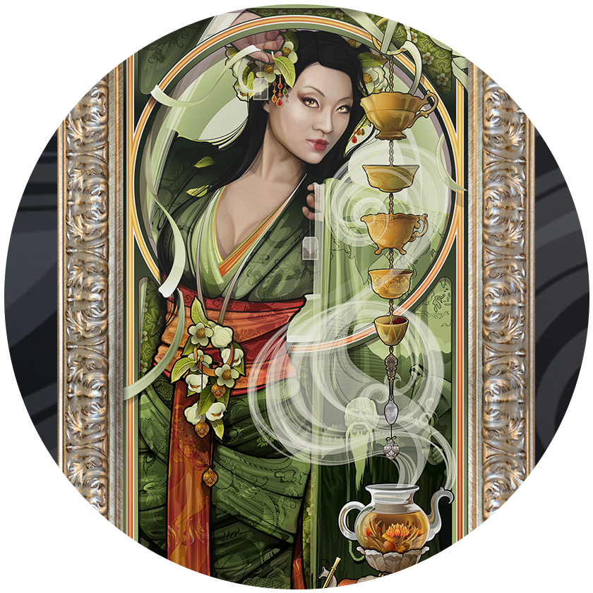 Goddesses of Cuisine Giclees