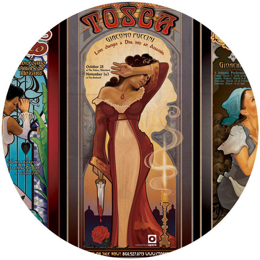 Art Nouveau Posters Original Run