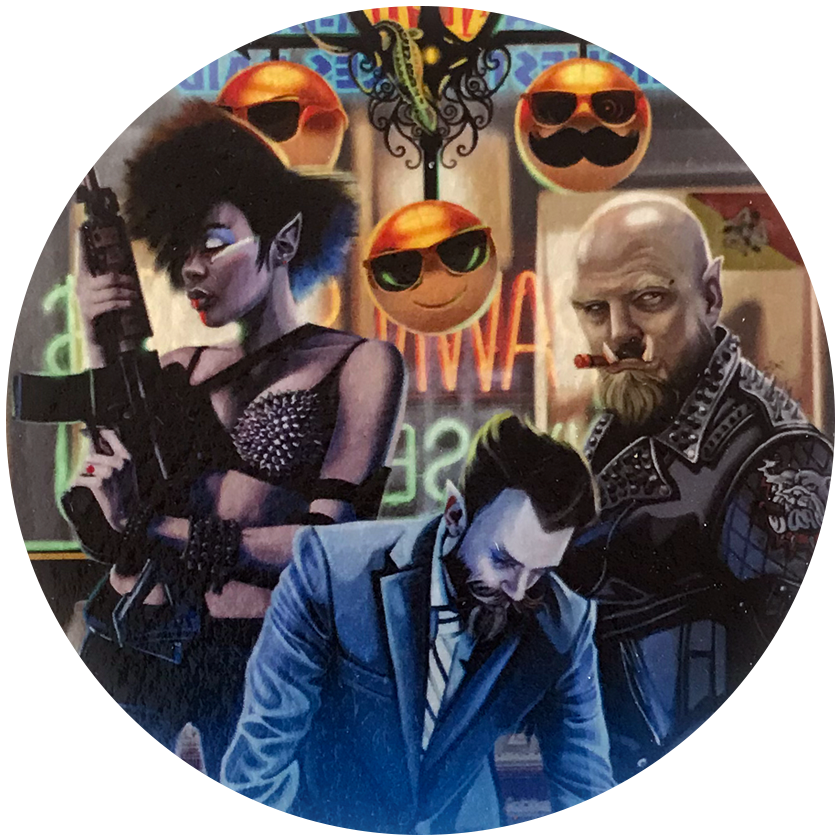 Shadowrun Original Paintings