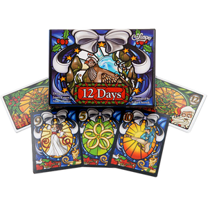 12 Days of Christmas Card Game