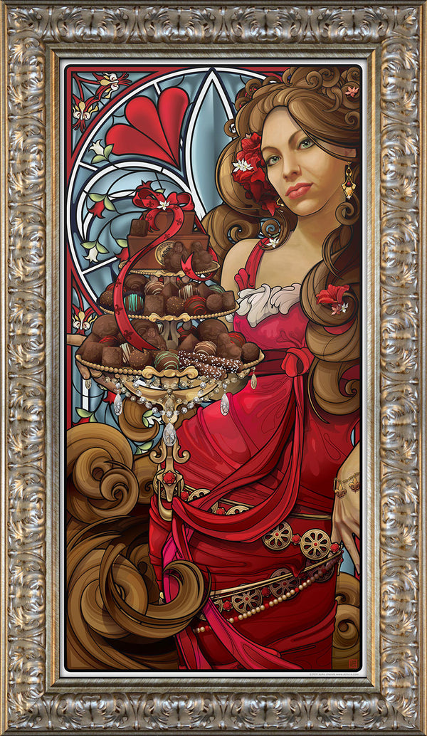 """Oh For the Love of Chocolate"" Giclee"