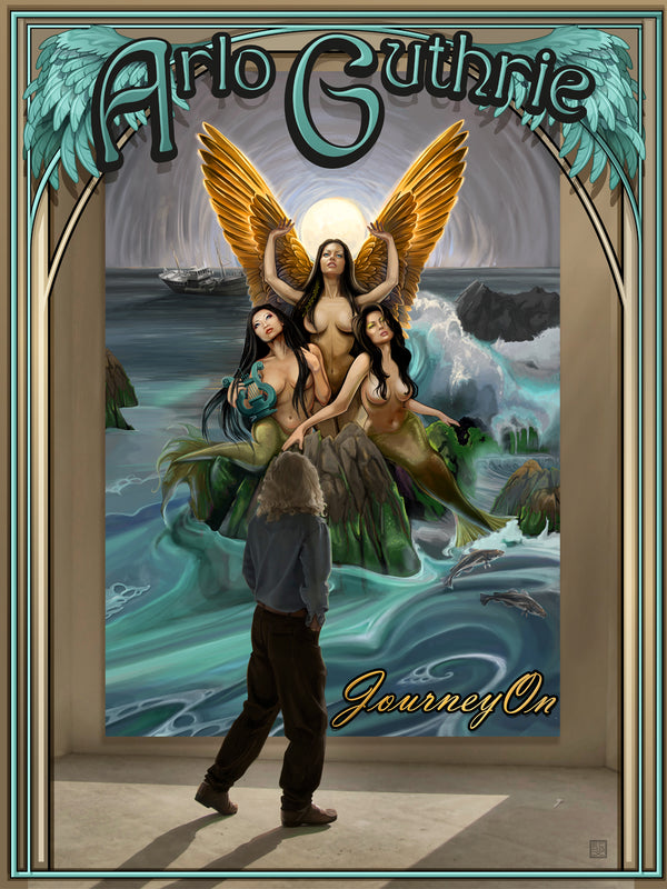 Journey On Tour Poster