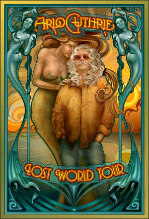 Lost World Tour Poster