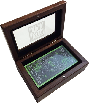 Luxury Wooden Sixth World Tarot Deck Box