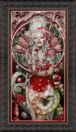 """Peppermint Cthulhu"" Giclee"