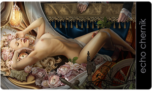 "Playmat: ""Dreaming of Beauty"""