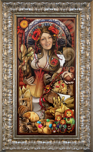 """Goddess of Bread"" Giclee"