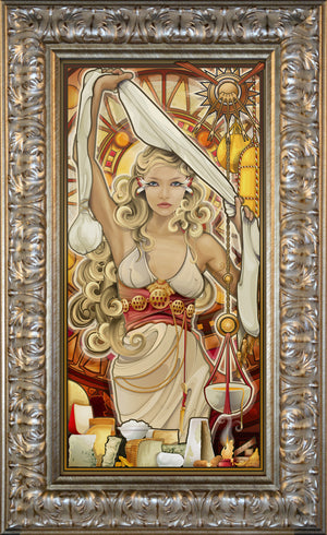 """Goddess of Cheese"" Giclee"