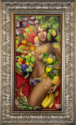 """Goddess of Fruit"" Giclee"