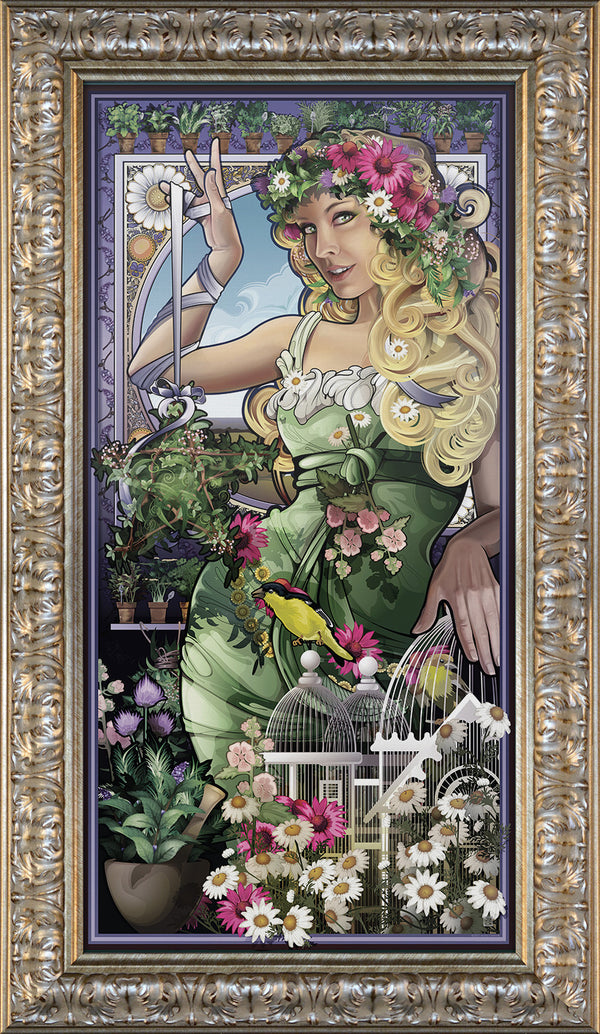 """Goddess of Herbs"" Giclee"