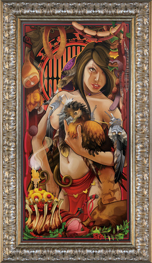 """Goddess of Meat"" Giclee"