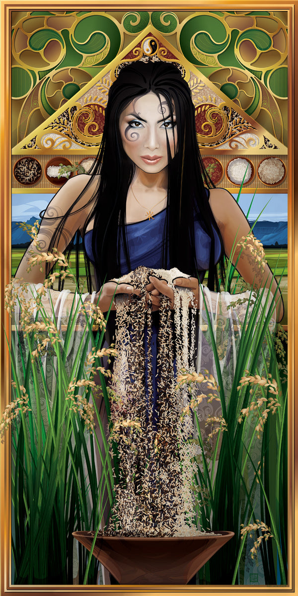 """Goddess of Rice"""
