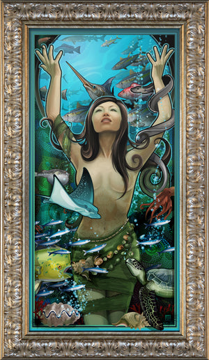 """Goddess of Seafood"" Giclee"