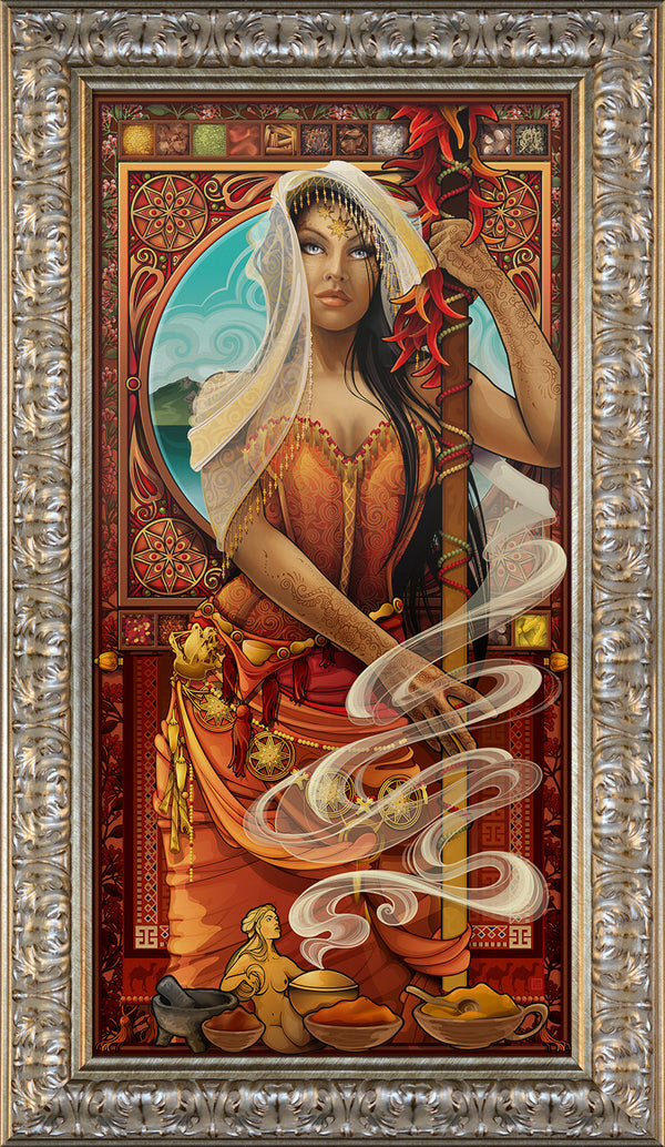 """Goddess of Spices"" Giclee"