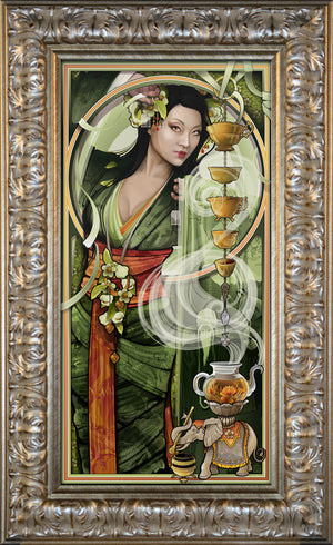 """Goddess of Tea"" Giclee"