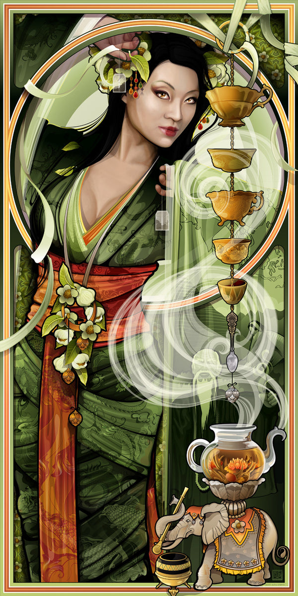 """Goddess of Tea"""