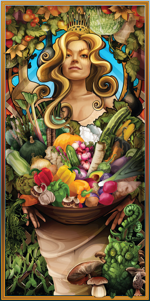 """Goddess of Vegetables"""