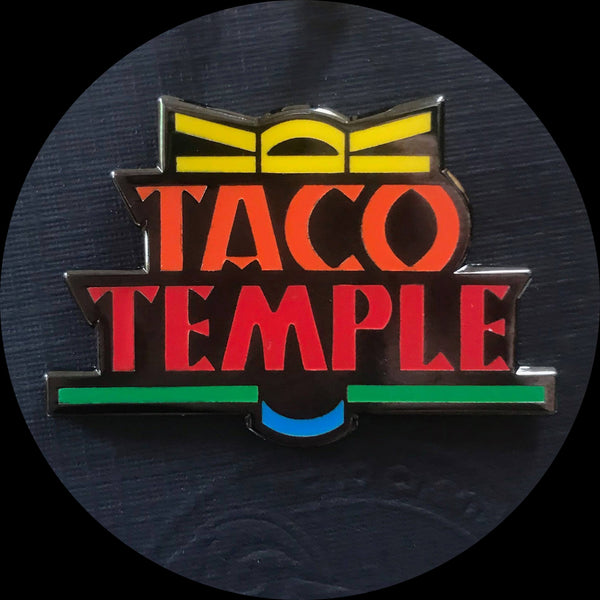 Taco Temple Enamel Pin Shadowrun
