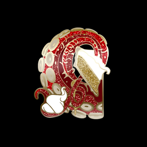 Reward: Tentacle Exotic Enamel Pin - Pie