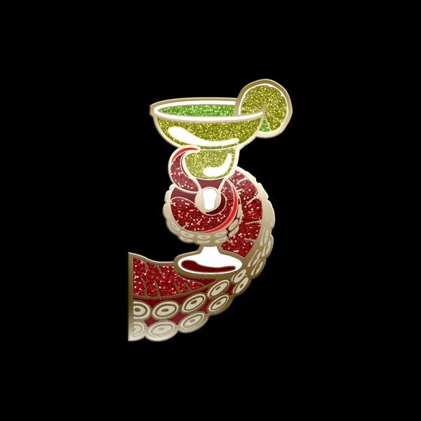Reward: Tentacle Exotic Enamel Pin - Margarita