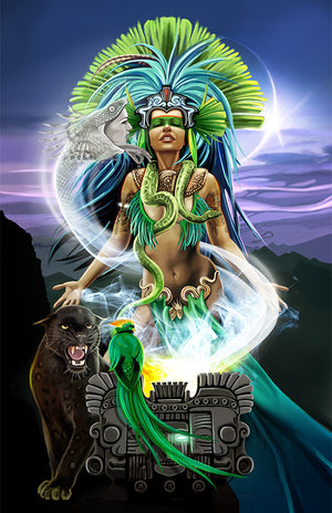 Major 002 The Shaman (The High Priestess)