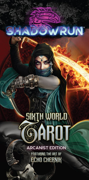 Shadowrun: Sixth World Tarot Arcanist SIGNED