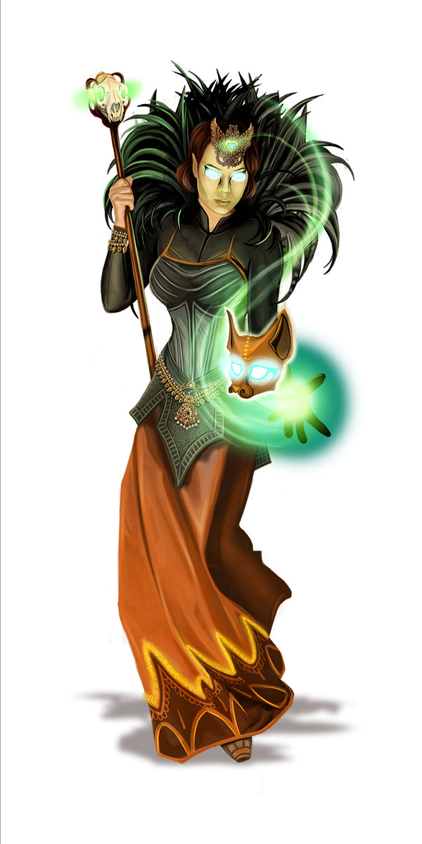 """Dragonfire Wizard"""