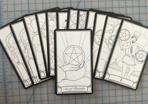 Replacement Cards For Color Your Own Tarot