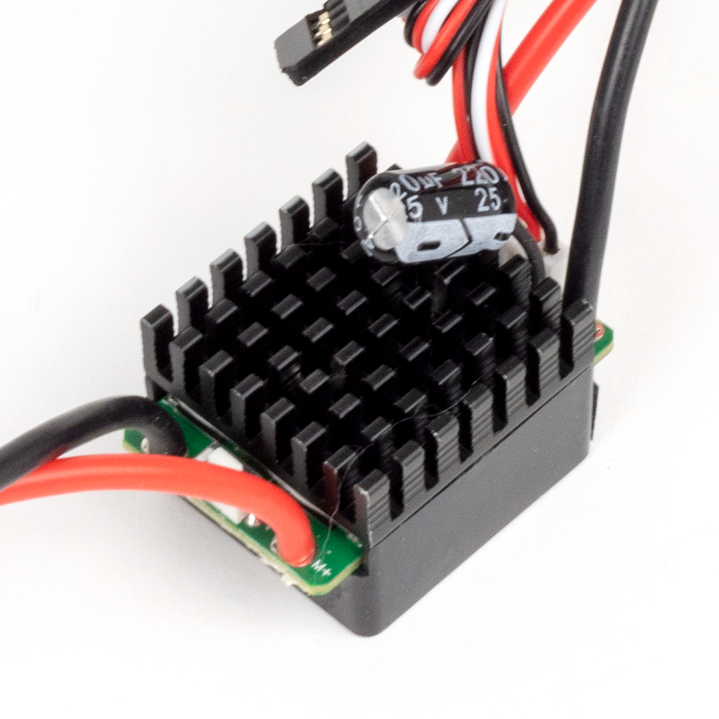 45A Programmable Brushed ESC