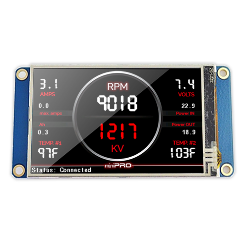 "3.2"" Touch Screen Color Display - miniPRO"