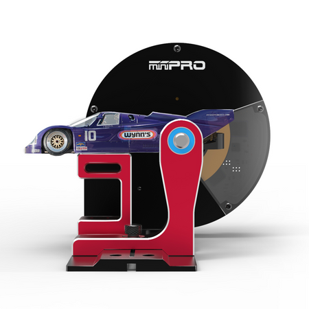 miniPRO® Slot Car Dyno Side View
